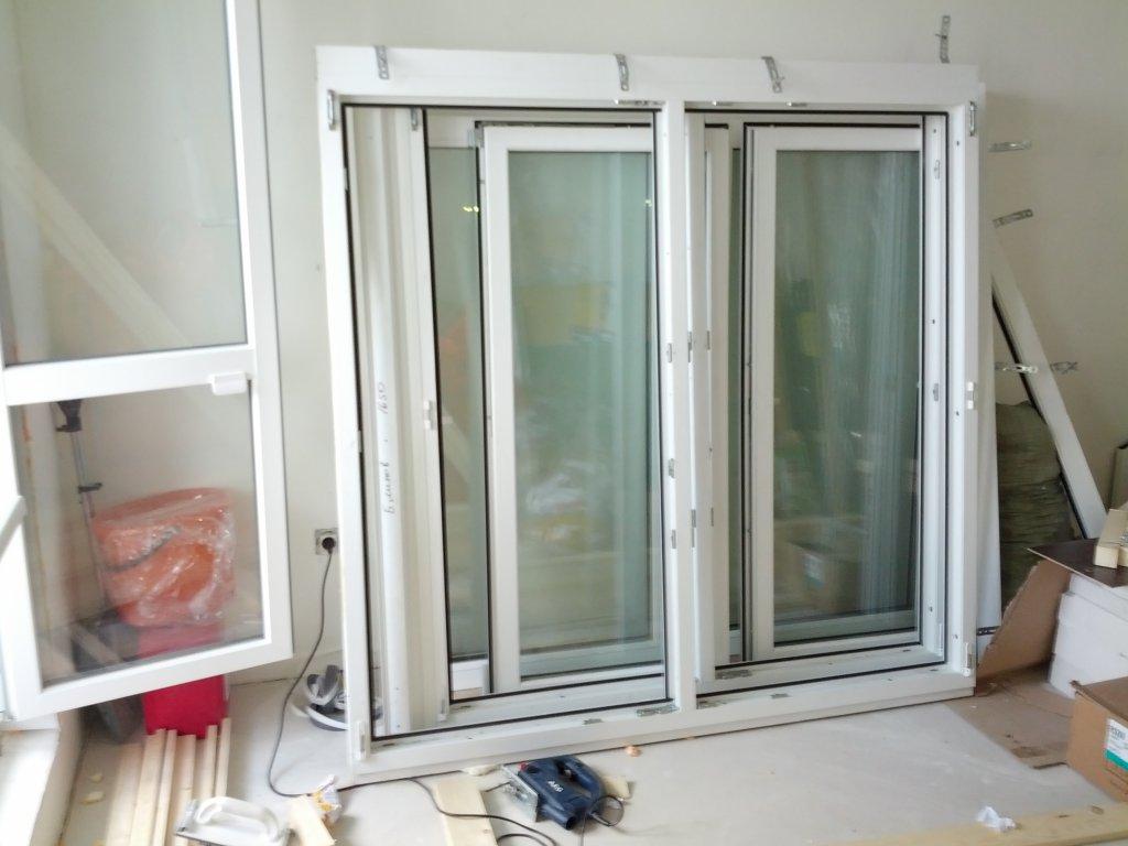 Продам пластиковые окна на лоджию п44т(утюг) - щитниково, са.