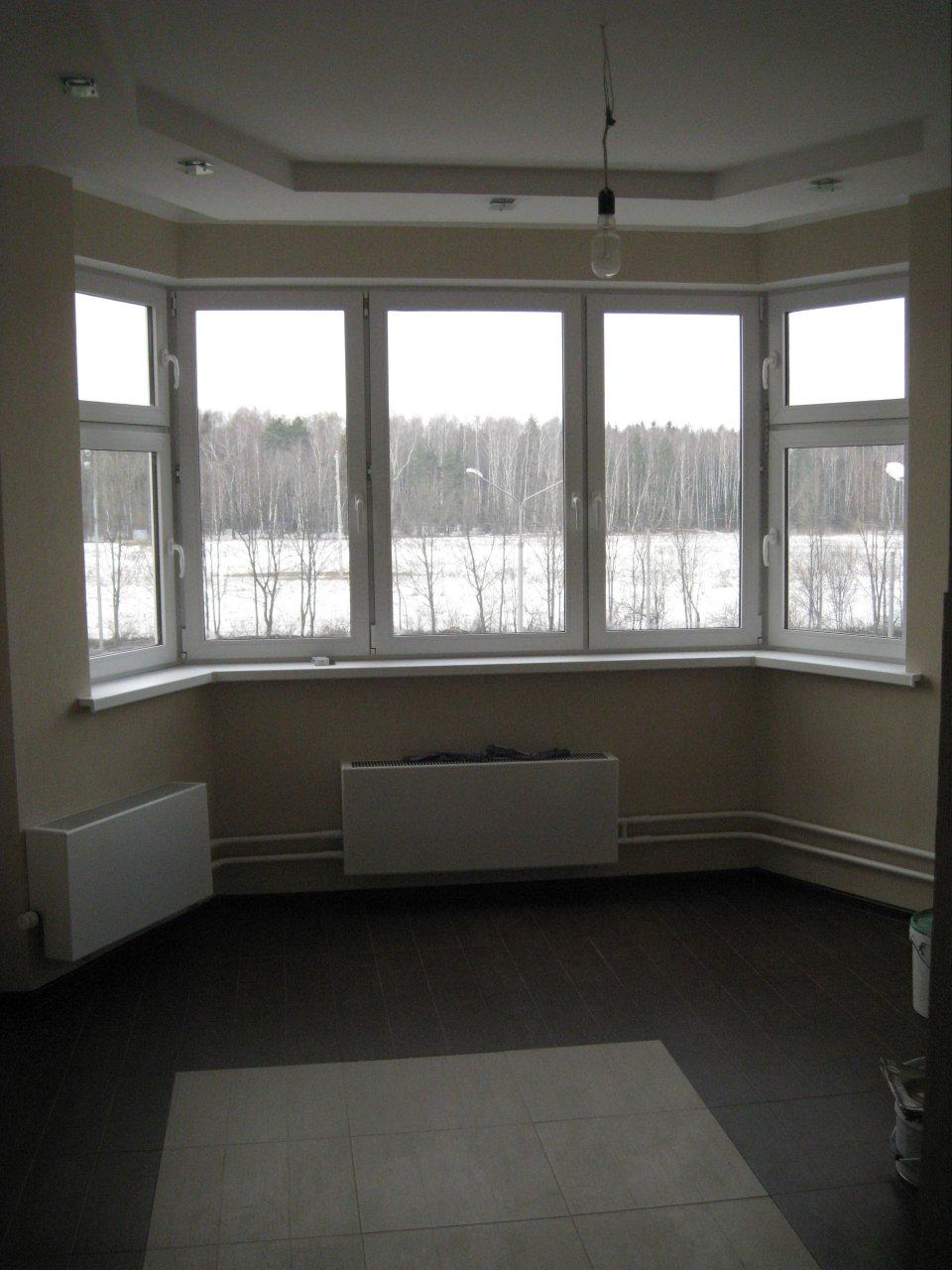 П44т дизайн комнаты с эркером