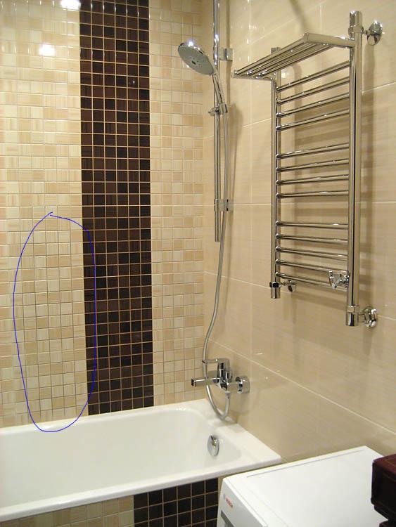 Дизайн ванной комнаты фото п44т