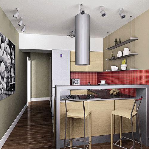 Дизайн кухни с полуэркером п44т фото. дизайн кухни с эркером.