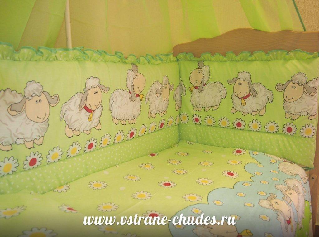 Высота бортиков в кроватку для новорожденных
